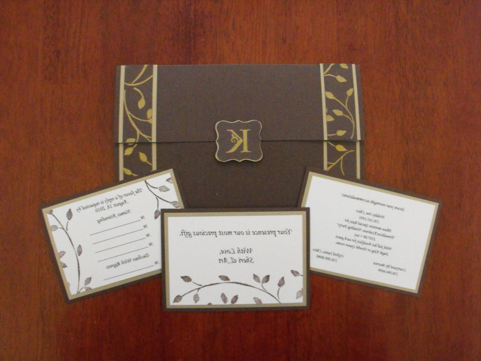 09 18 2010 wedding invitation
