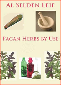 Cover of Al Selden Leif's Book Pagan Herbs by Use