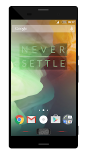 Theme OnePlus Two Red - screenshot