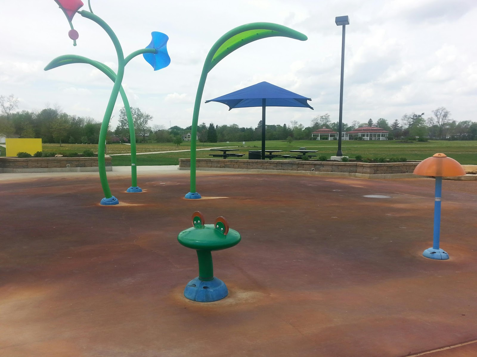 It S Bring Your Own Horseshoes But There A Beautiful Park All Ready And Set Up For At Riverside Gardens In Leo Cedarville Indiana