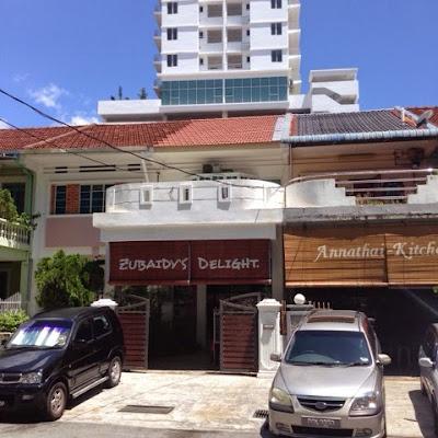Zubaidy's Delight, Penang