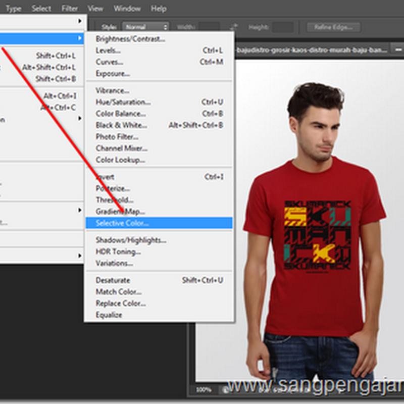 Mengganti Warna dengan Selective Color pada Photoshop