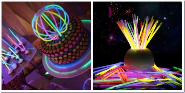 organizzare feste-braccialetti-fluo-glow-party-gadget-luminosi-feste-bicchieri-anelli-occhiali-smalto-ghiaccio
