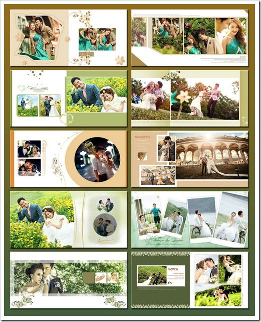 wedding templates sheet psd