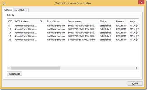 Monitor rpc over http connections dating