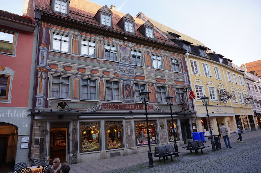 Старая аптека в Фюссене
