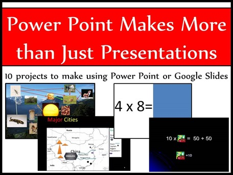 Power Point Makes More than Just Presentations
