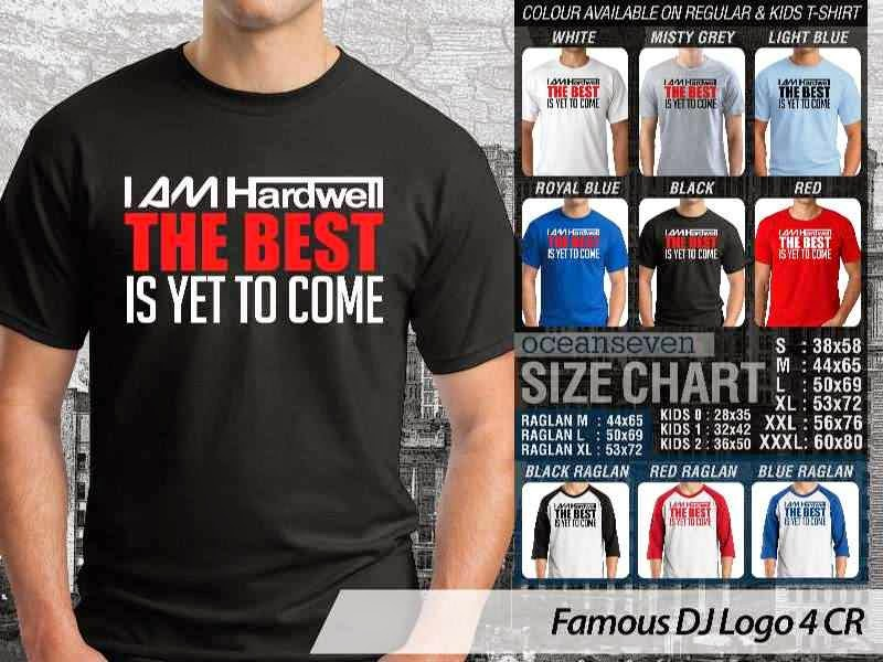 KAOS Musik DJ 15 I Am Hardwell The Best is Yet To Come distro ocean seven