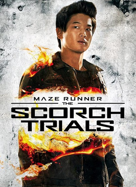 ki hong lee as minho in MAZE RUNNER THE SCORCH TRIALS