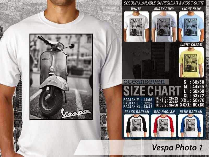Kaos Vespa Photo 1 distro ocean seven