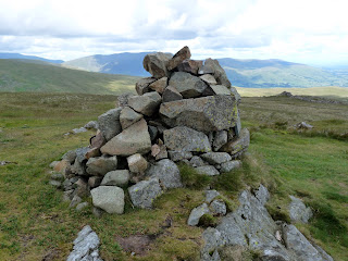 Birkett Fell Summit Cairn.