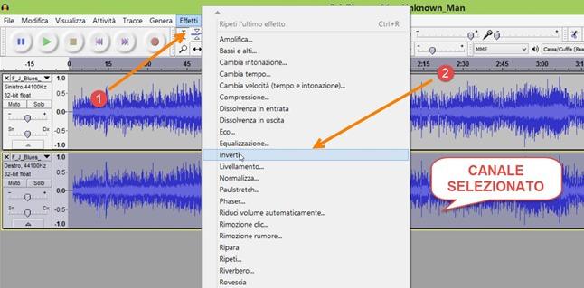 selezionare-canale-stereo