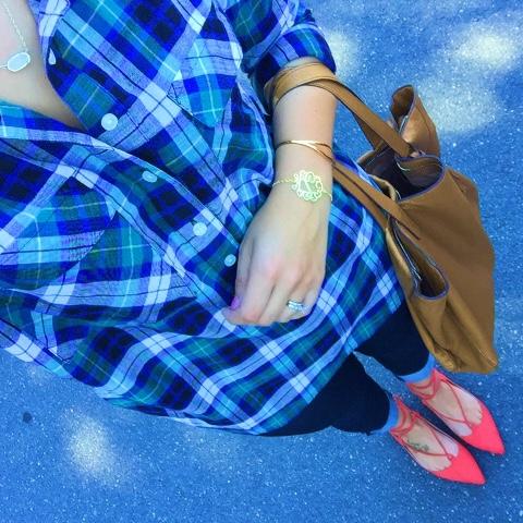 lace up flats, how to wear a plaid shirt, fall fashion