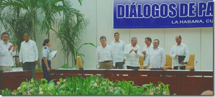 Firma Paz en La Habana