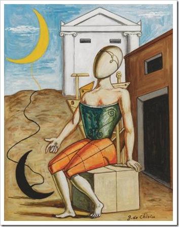 De Chirico, Il poeta solitario