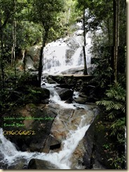 waterfall riau sungai sedim 2