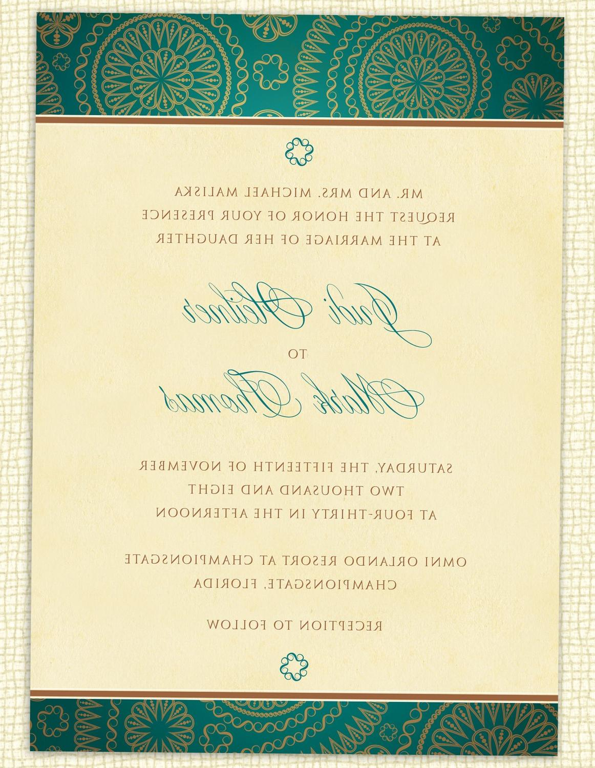 Blank Hindu Wedding Invitation Cards ~ Matik for .