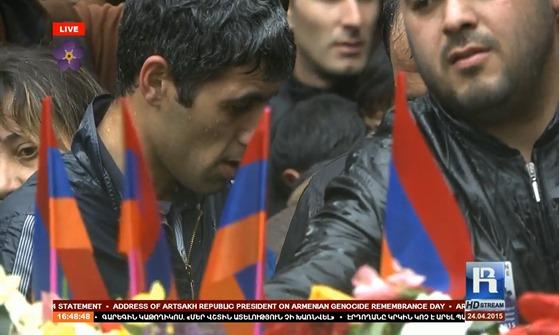 imatge de la commemoracion del genocidi dels Armenians 25