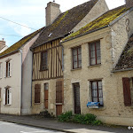 Rue Edmond Hubert : maison à colombage
