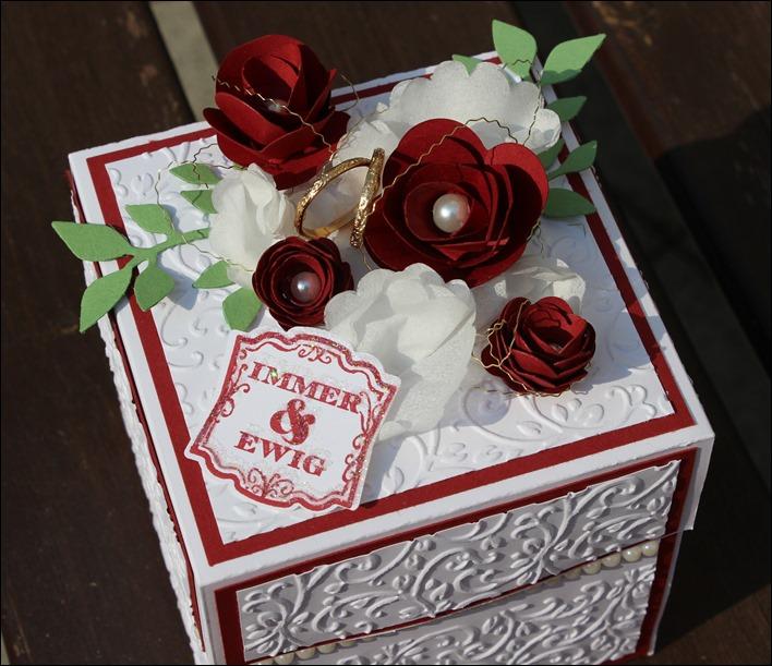Explosion Box Love Wedding Hochzeit Cake 100