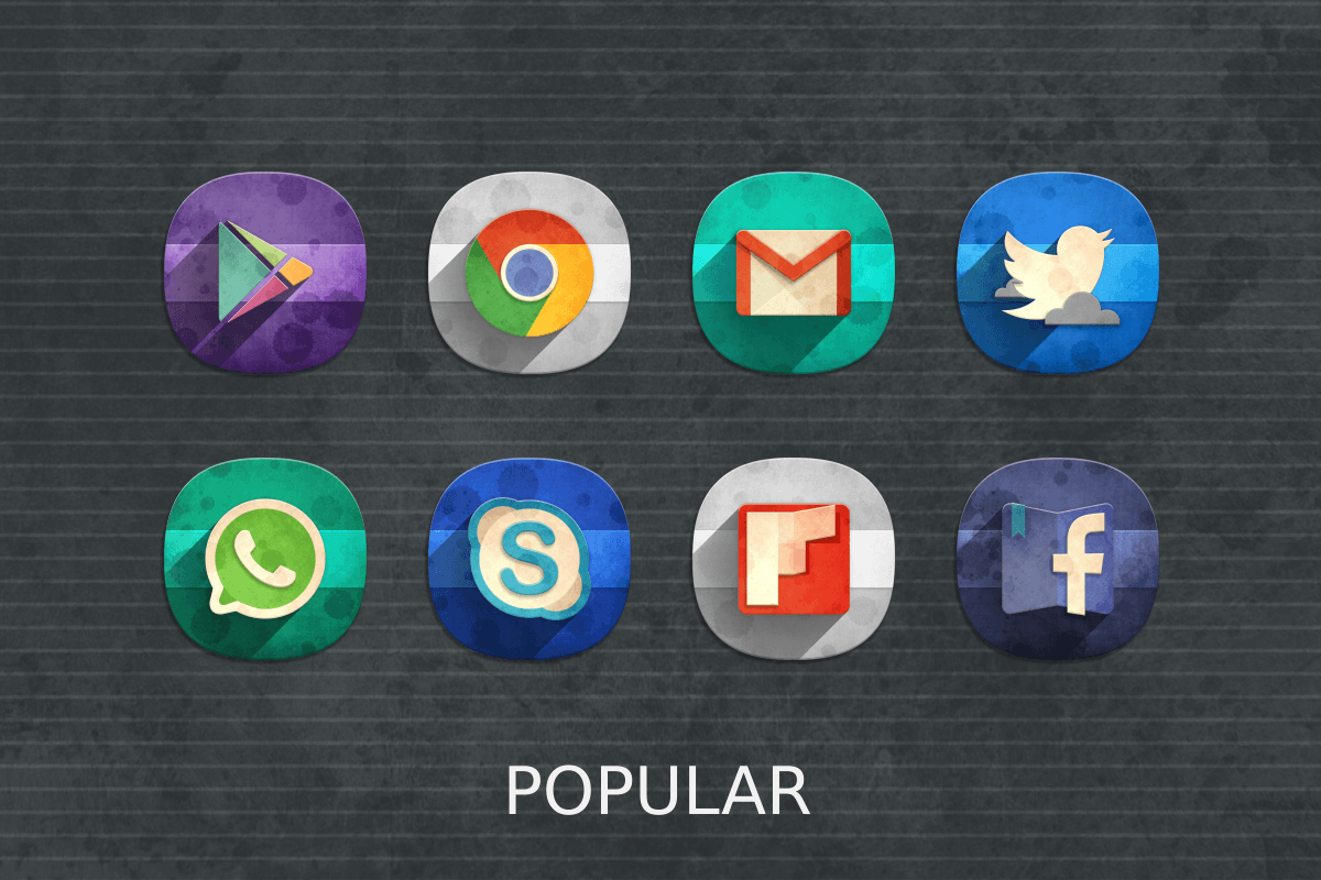 Classic Material Icon Pack Screenshot 15