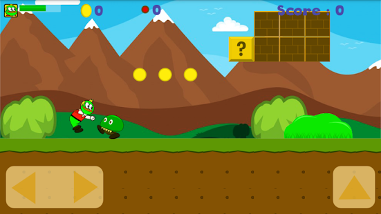 strong frog adventure - screenshot