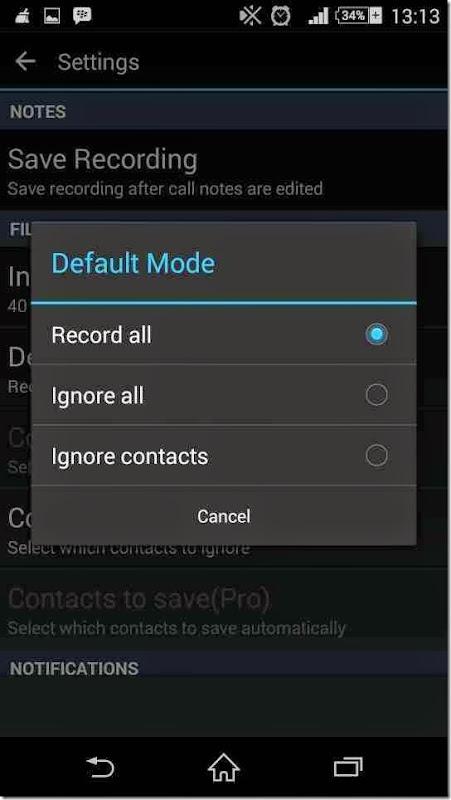 cara merekam hasil suara telephone dengan pacar