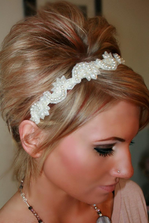 Creamy Pearls Headband
