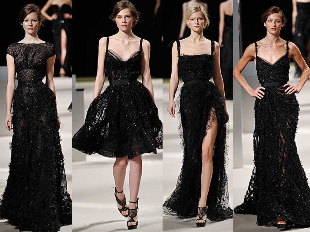 Black Informal Wedding Dresses