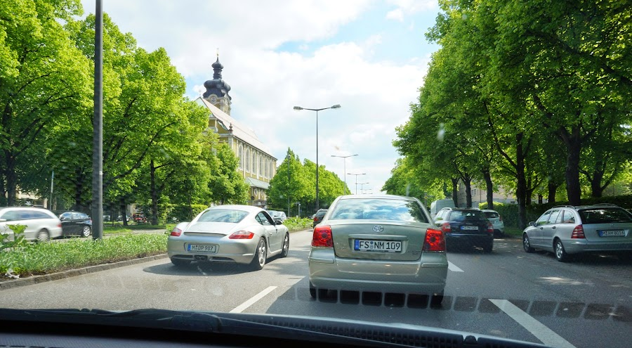 Автомобили в Мюнхене