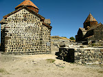 Sevanavank Monastery, above Lake Sevan, Armenia.