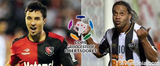 Newells vs Atlético Mineiro en Vivo - Libertadores 2013