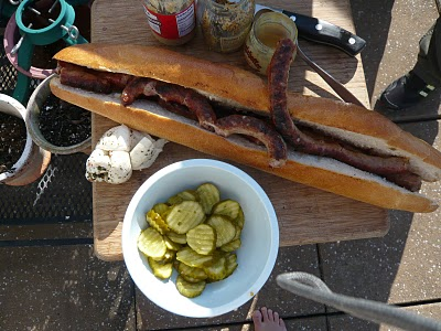Provolone Sausage Sandwiches