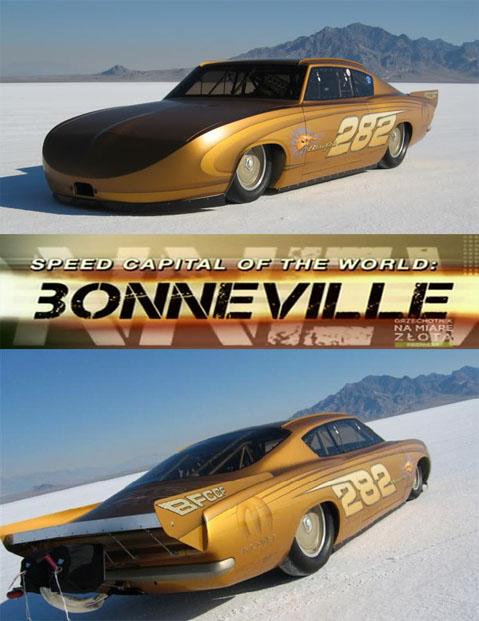 Bonneville ¶wiatowa stolica szybko¶ci / Speed Capital of the World Bonneville (2008) PL.TVRip.XviD / Lektor PL