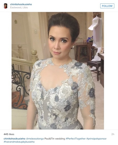 Paul-Celestine wedding - Lea Salonga