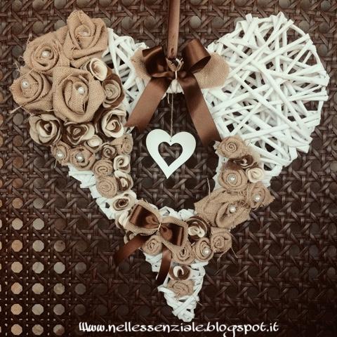 ghirlanda romantica