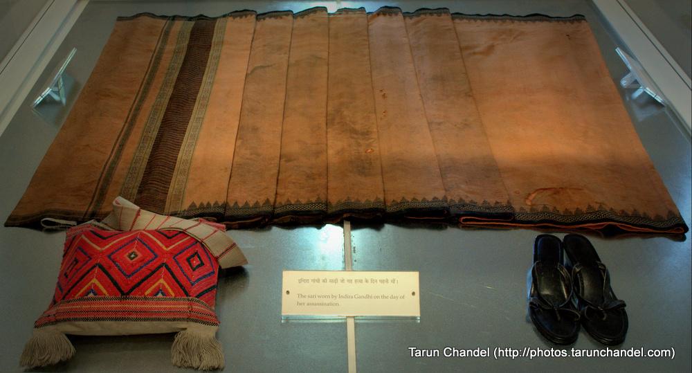 Indira Gandhi Last Saree, Tarun Chandel Photoblog
