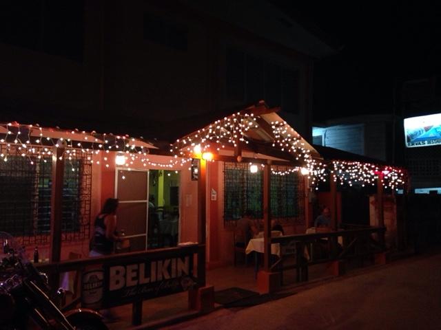Erva's restaurant in San Ignacio, Belize