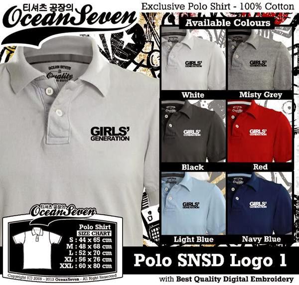 POLO SNSD Logo distro ocean seven