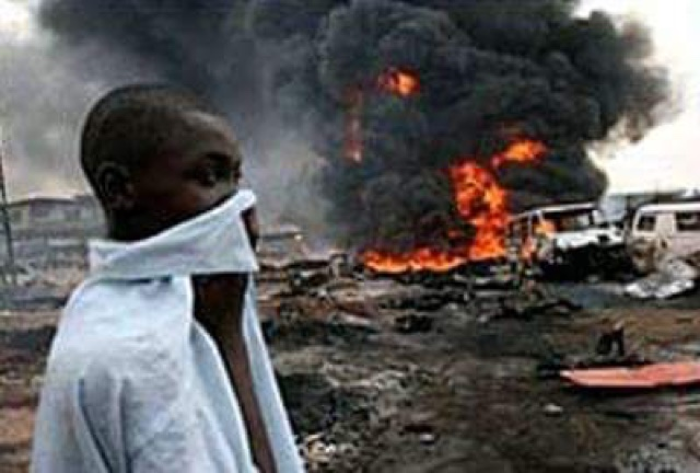 PHOTOS: Over 100 Die In Nnewi Gas Plant Explosion 1