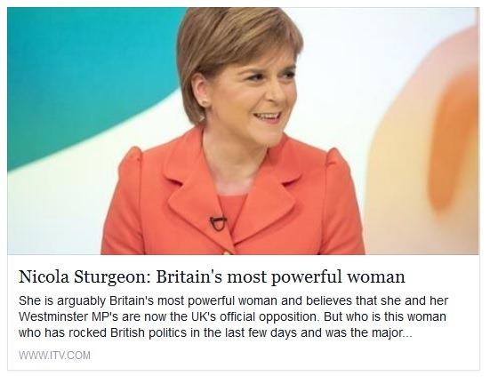 Nicola Sturgeon britain's