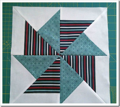 Flying Kite Quilt Block