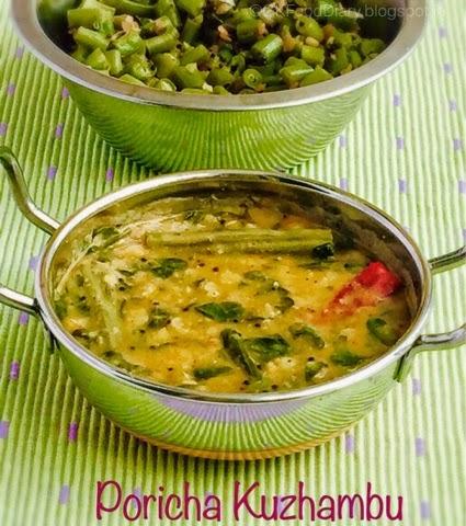Poricha Kuzhambu Recipe
