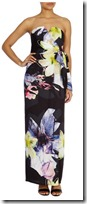Coast print maxi dress