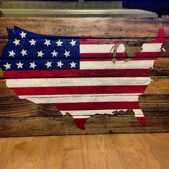 American flag us