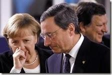 Angela Merkel e Mario Draghi