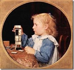das-madchen-mit-den-dominosteinen-girl-with-domino-stones