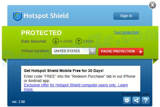 Hotspot Shield 6.1.3