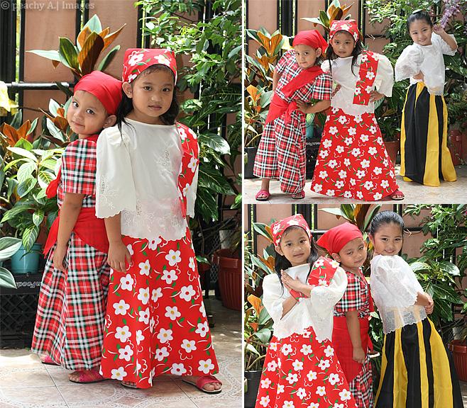 Buwan ng wika costume for kids