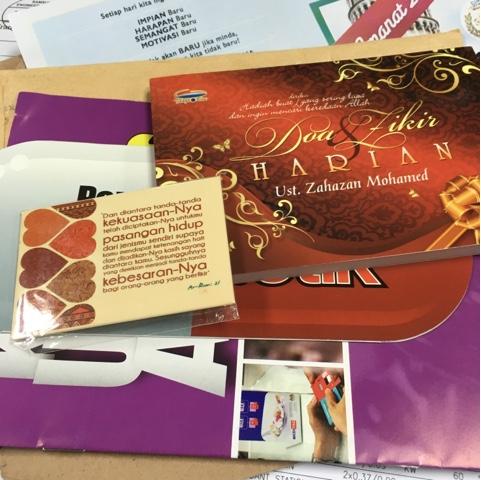Hadiah Dari Blogger Huda
